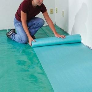 Как подготовить пол укладке дощатого покрытия.